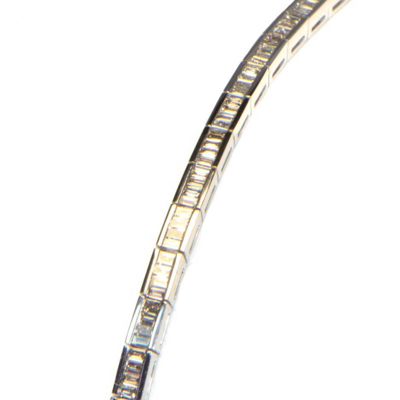 Diamant Tennis Armband Baguette