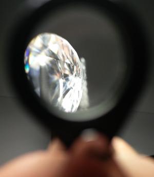 Diamanten Lupen