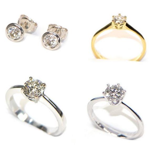 Diamantschmuck klassisch