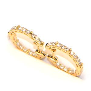 Diamant Creolen kaufen
