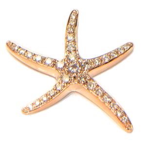 diamant anhänger rosegold