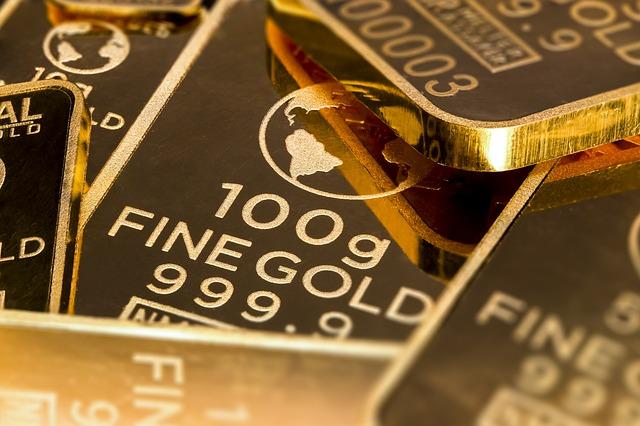 Goldbarren beleihen