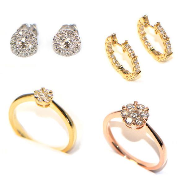 Diamantschmuck modern