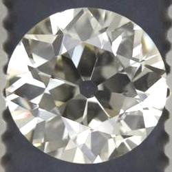 Diamant mit großer Kalette