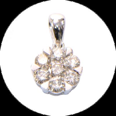 Diamant Anhänger Blüte rund_400
