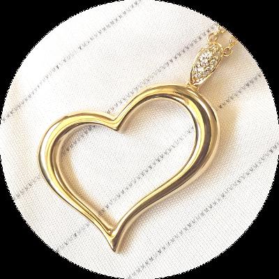 Diamant Anhänger Herz