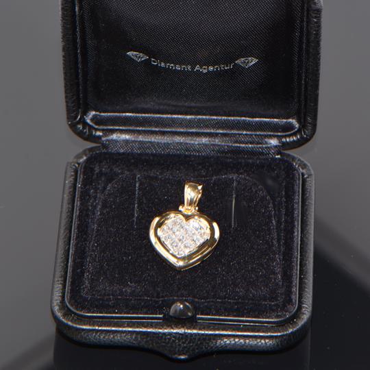 Herz Anhänger Diamant Agentur