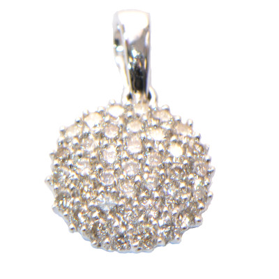 Kugel Diamant Igel Anhänger