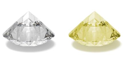 4C Diamant Farben