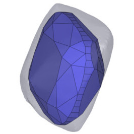 Diamant Schliffform - Planung