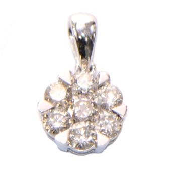 Diamant Anhanger Illusion WG 350 1