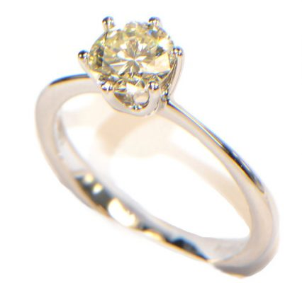 Diamant Farbe 1ct. Weissgold