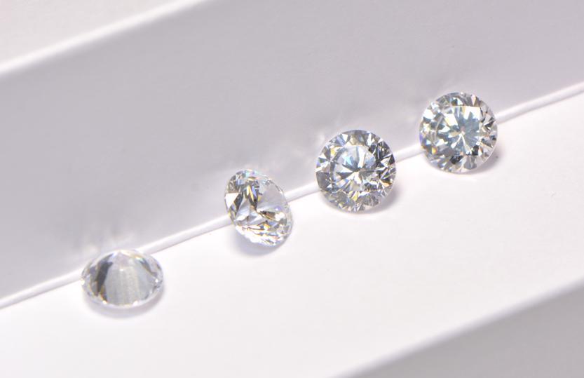 Diamant Farbe Vergleich