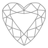 Diamant Form Herz Heart