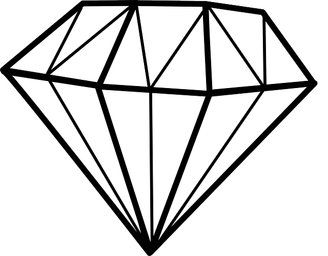 Diamant Symmetrie