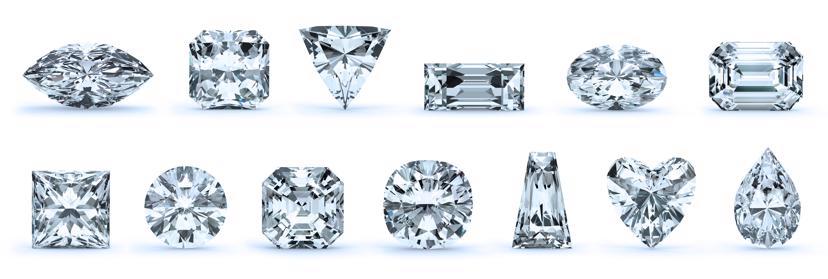 Diamond Cuts Diamant Schliff Formen