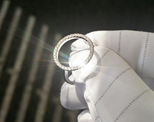 Diamanten funkeln Brillanz Feuer 530