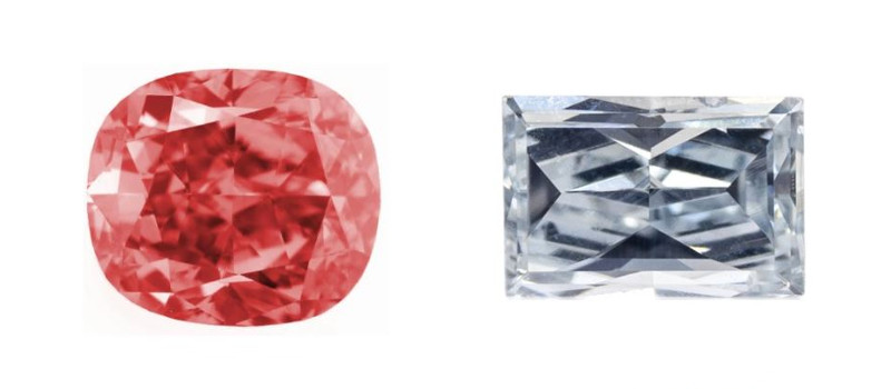 Farbdiamanten Farbe Diamanten 4c
