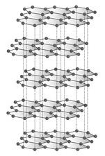 Graphit Struktur Kohlenstoff