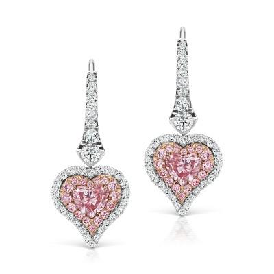 Heart diamond herz diamant ohrringe 1