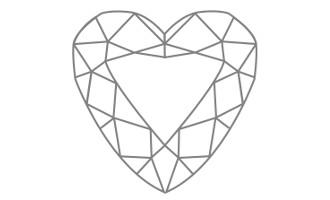 Herz Schliff Oberteil
