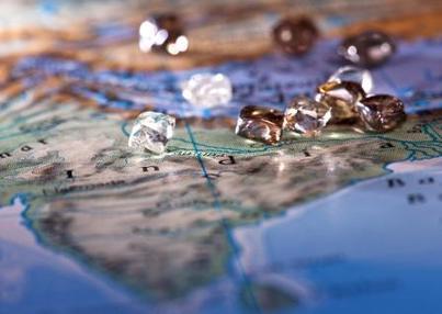 Indien und Diamanten