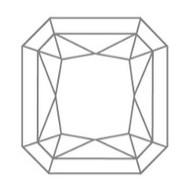Radiant Cut Diamant Form