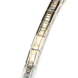 diamantarmband baguette weissgold