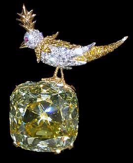 gelber tiffany diamant