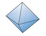 Oktaeder Rohform Diamant