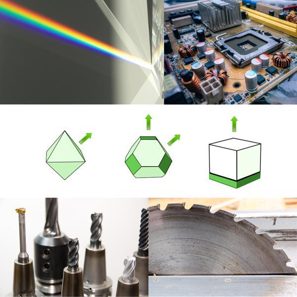 Eigenschaften Diamant Verwendung Industriediamanten