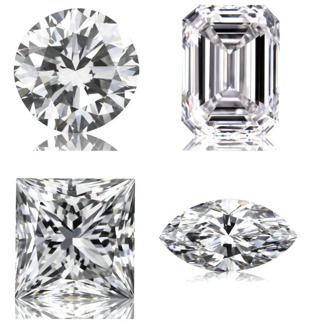 Diamanten Schliffformen