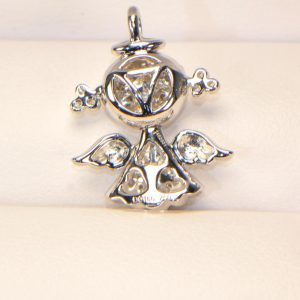Diamant Anhänger Engel 4
