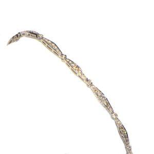 Diamant Armband 2 Karat Weissgold 1