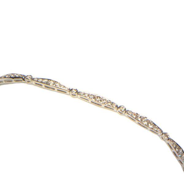 Diamant Armband 2 Karat Weissgold 2