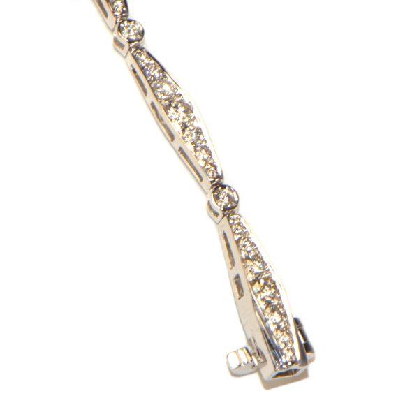 Diamant Armband 4 Karat Weissgold
