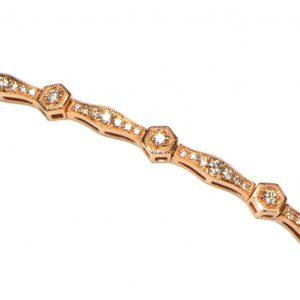 Diamant Armband Rosegold