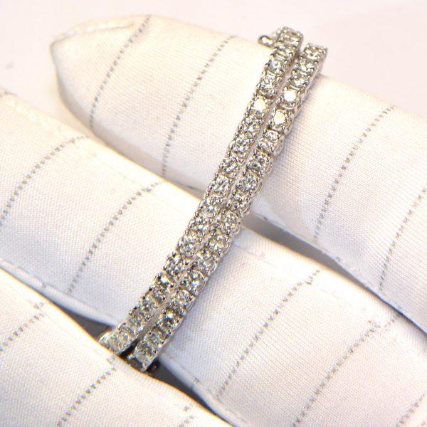 Diamant Tennis Armband Weissgold