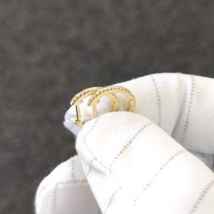 Diamant Creolen Gelbgold Kreolen 18K