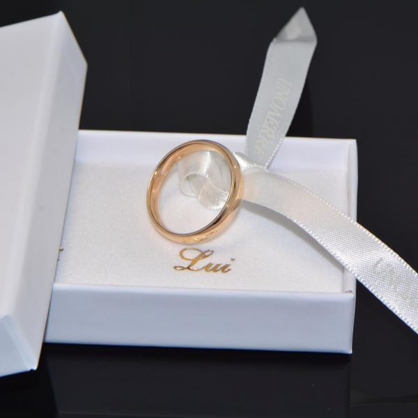 Ehering Vicenza Gelbgold 18K Trauring
