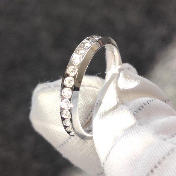 0,60 ct Venere Slim UNOAERRE Weissgold Memory Ring