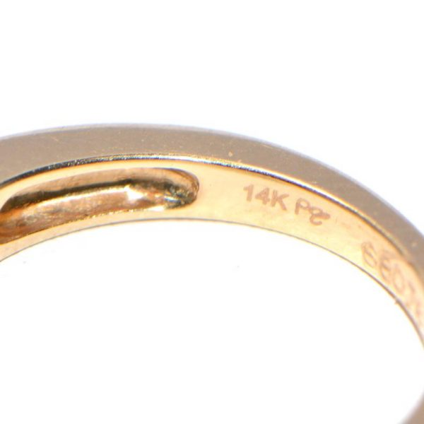 Memory Ring Gelbgold Princess 0,5 Karat