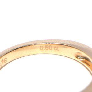 Memory Ring Gelbgold Princess 1 Karat