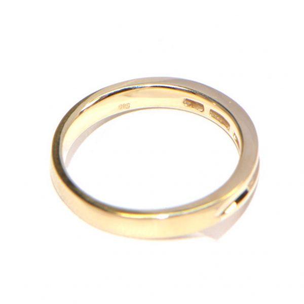 R07 Memory Ring Gelbgold Diamantring