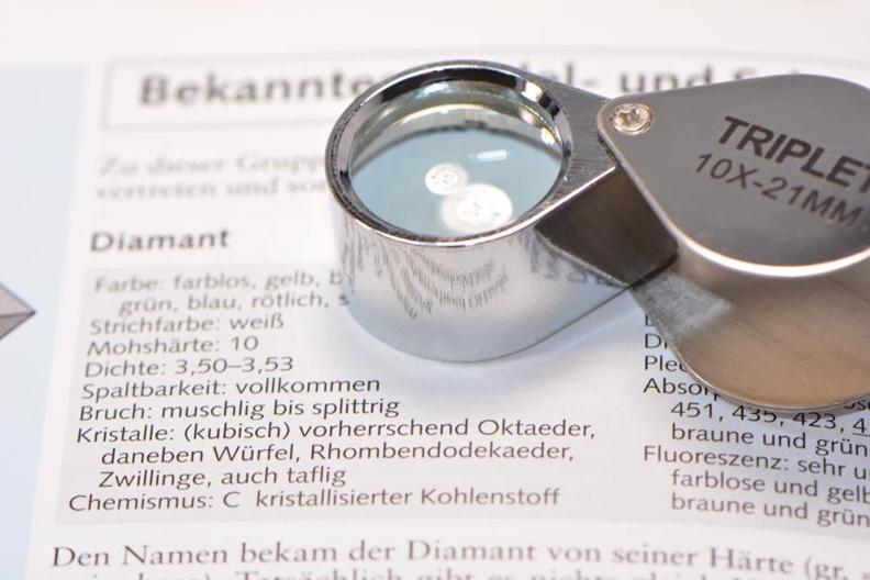 Diamant Prüfen Lupen Lexikon