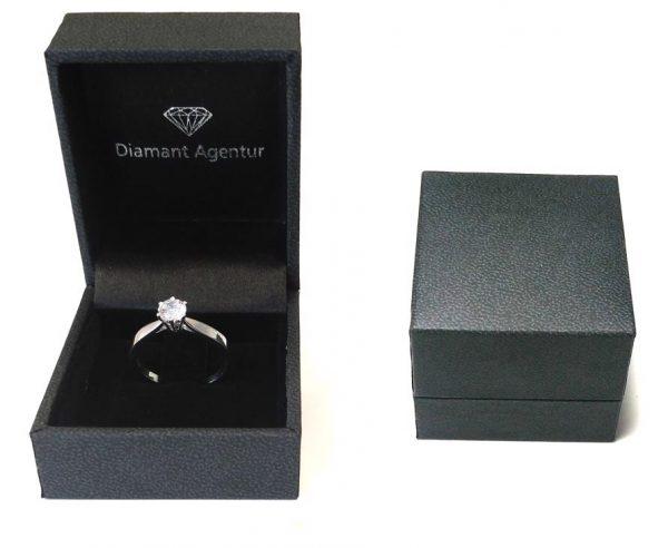Diamant Ring Etui Schmuckschachtel Muster